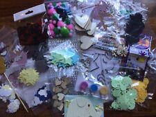 LOCKDOWN JOBLOT Craft Unicorn A6card Suncatcher wooden Embellishment Stars Heart