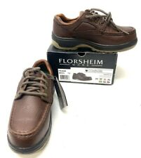 Florsheim Work Men's Compadre Fe2440 Work Shoe, Brown, Size 7 D Rm-138