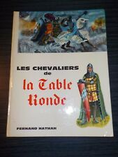 Les Chevaliers de la Table Ronde - illustrations Maria Calati - 1964