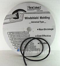 Flexline Windshield Auto Glass Universal Inverted Molding Trim Rubber 14.5mm 75'