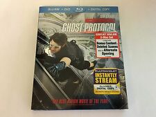 Mission Impossible Ghost Protocol w/Slipcover Blu-ray