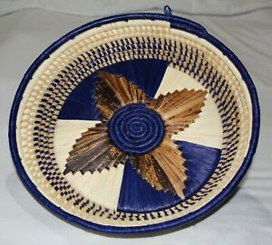 African Wall Basket Decor