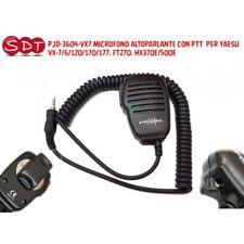 PJD-3604-VX7 MICRO HAUT-PARLEUR AVEC PTT POUR YAESU VX-7/6/120/170/177, FT270