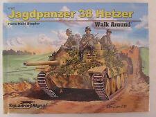 Squadron/Signal Book - Jagdpanzer 38 Hetzer Walk Around #67027 HC