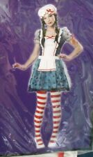 NWT Creepy ? Rag Doll RAGGEDY ANN Halloween Costume Teen Girls Juniors Size 7-9