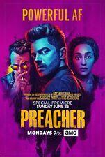 PREACHER SEASON 2 TV SHOW PROMO POSTER 2017 DC VERTIGO 24 X36 NEW AMC !