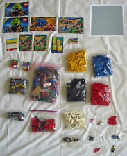 LOT 1500+ LEGO pieces bricks minifigures parts Most from 1980's to early 1990's