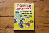 Popular Mechanics Magazine September 1959 Half Century of Helicopters