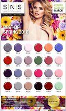 SNS Nail Color inmersión en Polvo Nueva colección de primavera Bos & nos envío gratuito