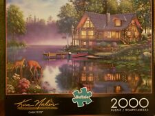 Buffalo Kim Norlien Jigsaw Puzzle CABIN FEVER Puzzle 2000 Piece