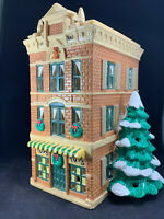 "Department Dept 56 Original Snow Village ""Toy Shop"" 1986 House in Box Vintage"