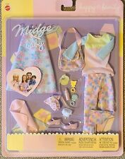 New ListingNew Happy Family Midge and Baby Fashion Clothes #47629 Sealed Package Barbie Nib