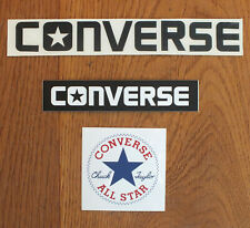 Converse 3 X Sticker Aufkleber Decal Adesivo Skateboard Sport BMX  (S011)