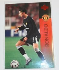 DAMAGED CRISTIANO RONALDO 2003 UPPER DECK MANCHESTER UNITED RC #15 ROOKIE