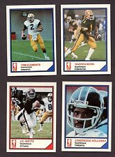 1983 Jogo CFL Complete Set of 110 w RARE Warren Moon Rookie # 253 of 500 Sets