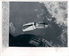 1966 View of Augmented Tarket Docking Adapter Viewed by Astronauts Press Photo