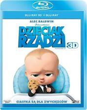 DZIECIAK RZĄDZI 3D (THE BOSS BABY 3D) - 2 BLU-RAY 3D/2D