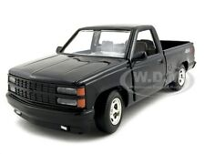 1992 CHEVROLET SS 454 PICKUP TRUCK BLACK 1/24 DIECAST CAR MODEL MOTORMAX 73203