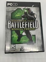 BATTLEFIELD 2: SPECIAL FORCES EXPANSION Pack (PC, 2005) Complete Tested