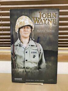 Sideshow Collectible John Wayne Pacific Marine 12 inch Action Figure WWII USMC