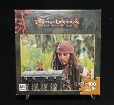 """Pirates of the Caribbean: Dead Man's Chest Puzzle 100 PC 5+ New in Box  10""""x13"""""""