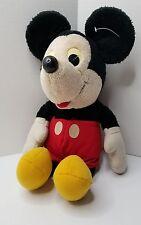 "Mickey Mouse Hasbro Softies 16"" Plush Stuffed Animal 1980's Toy"