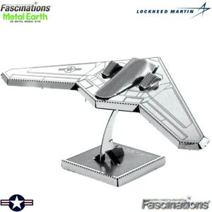 Metal Earth RQ-170 Sentinel Stealth Drone Plane 3D Model Building Kit Aircraft