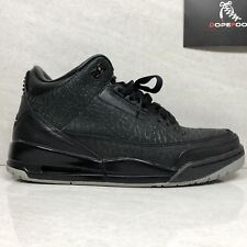 Nike Air Jordan 3Retro  III Flip Size 8.5 Black 315767 001