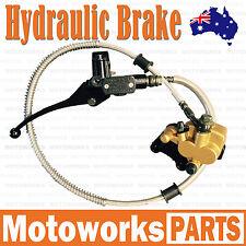 Hydraulic Front Disc Brake Caliper System+Pads 50cc 70cc 125cc PIT PRO Dirt Bike