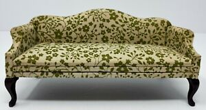 Vintage Artisan Made in Columbia for Block House Dollhouse Miniature Sofa Couch