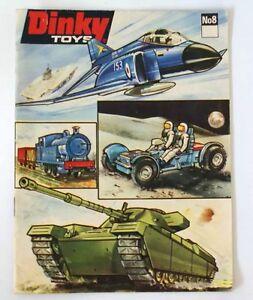 Vintage 1971 Dinky Diecast Toys Dealer Catalog Booklet #8