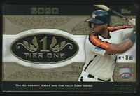IN STOCK 2020 Topps Tier One Baseball Factory Sealed Hobby Box 3 Hits Per Box!