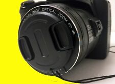 FRONT SNAP-ON LENS CAP DIRECTLY TO CAMERA FUJI FINEPIX X-S1 XS1 +HOLDER