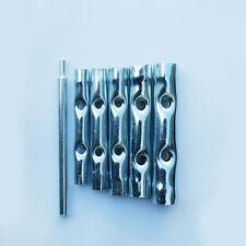Rohr Steckschlüssel Satz Sechskant Rohr Durchsteck-Schlüssel 6-tlg. 8-17mm