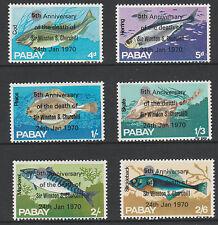 GB Locals - PABAY 5360 - 1970 poisson avec Churchill surimpression Corrigé