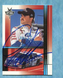 SIGNED 2002 Press Pass Optima Gold #34 Jason Keller-Autographed Card NASCAR Auto