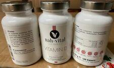 3x 120 Vitamin D Kapseln Nahrungsergänzungsmittel Posten 123.tv MHD Ware