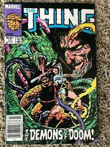 The THING #13 (Marvel, July 1984) NM- (9.2)