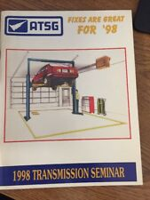 ATSG 1998 transmisison seminar tech book automatic transmission manual Domestic