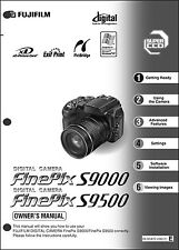 FujiFilm FinePix S9000 and S9500 Digital Camera User Guide Instruction  Manual