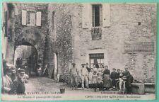 Saint Marcel Les Sauzet _ Le Moulin et passage de l'Èglise _ Rhône Alpes Drôme