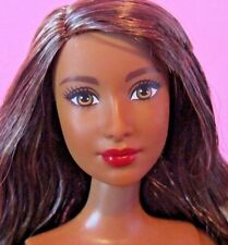 New 2015 Fashionista Barbie Doll, Goddess, Ethnic Asian Indian, Nude for Ooak