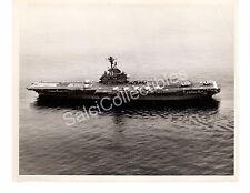 1969 USS Intrepid CV-11 Aircraft Car. Navy Ship Offi. Photo 8x10 Gitmo Bay Cuba