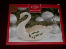 Lenox Holiday Swan Dish - New, Unused