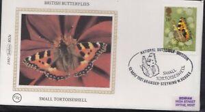 BS3.81) GB, Benham Silk Cover 1981, Set of 4, British Butterflies, Small Tortois