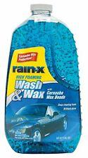 Rain-X Car Wash & Wax w/ Carnauba Wax Beads, 64 oz. 5077557