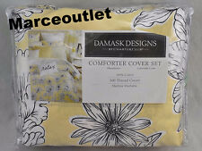 Charter Club Damask Designs Garden Butter Floral FULL / QUEEN Duvet & Shams Set