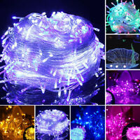 LED XMAS Christmas Lights Wedding Party Decor Fairy String Light Indoor/Outdoor