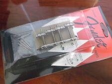 NEW - Genuine Fender Bridge Assembly For '70s J. Bass, CHROME, 005-5257-049