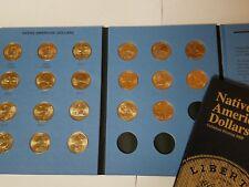 Complete 20 Coin Set->2009-2018 P&D Sacagawea Native American Dollars Jim Thorpe